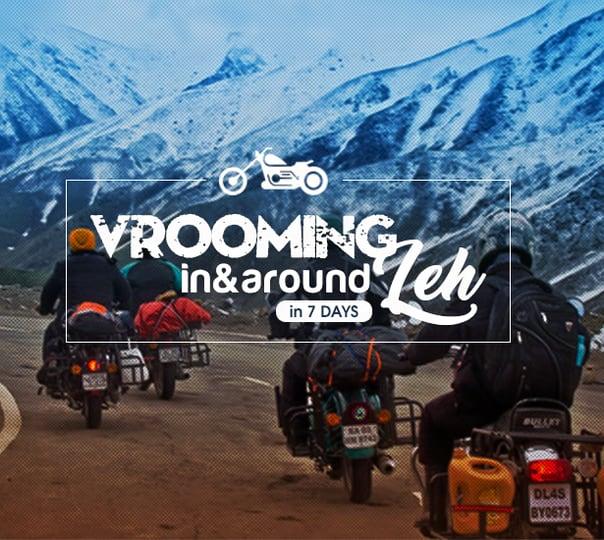 Leh Ladakh Bike Trip Package, 2018