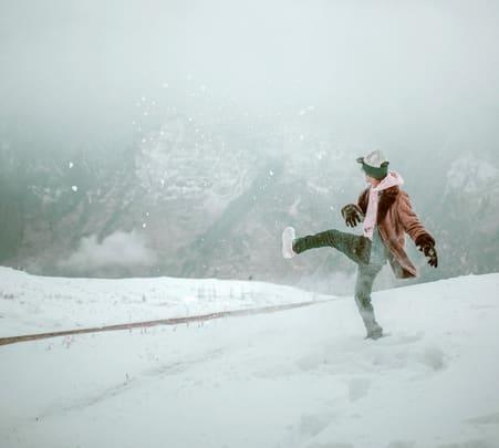 Auli Skiing Tour, Uttarakhand 2020