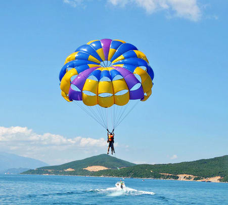Parasailing in Goa's Calangute Beach - Flat 25% Off