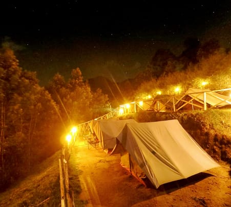 Adventure Camping in Munnar Flat 20% off