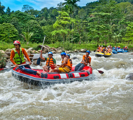 Rafting in Phang Nga, Phuket Flat 20% off