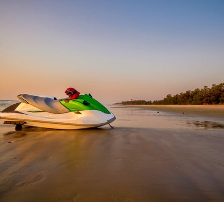 Jet Ski Riding at Calangute Beach, Goa - Flat 33% Off