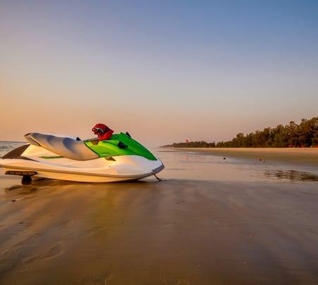 Jet Ski Riding at Calangute Beach, Goa - Flat 33% Off