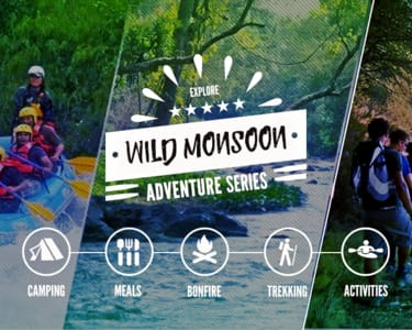 Wild Monsoon Adventure Series, Coorg - Flat 9% off