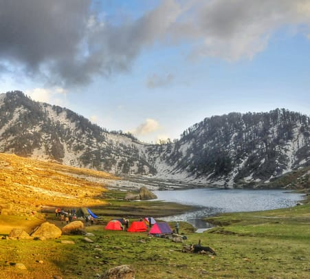 Kareri Lake Trek, 2018- Flat 20% off