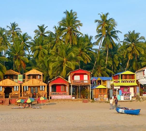Trip to Palolem Beach in Goa