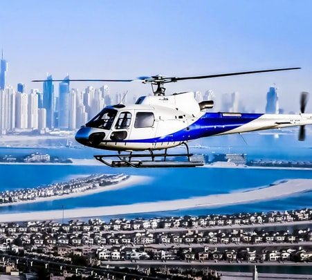 Helicopter Tour of Dubai - Flat 11% off