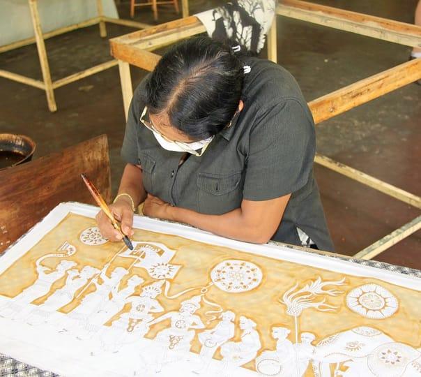 Tie and Dye Art in Goa