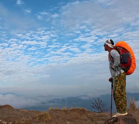 Short Trekking in Mount Batur at Bali