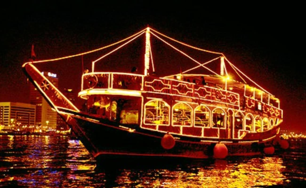 Dhow Cruise Trip At Dubai Marina Thrillophilia