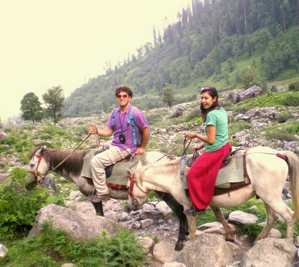 Horse Riding in Solang Valley, Himachal Pradesh