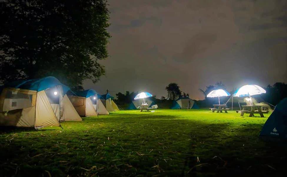 overnight camping at bhatsa river near mumbai