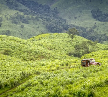 Offroad Jeep Ride: Madugundi Falls and Ballalarayana Durga