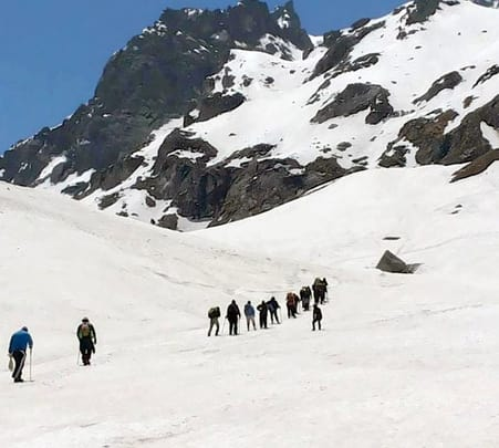 Trek to Hampta Pass