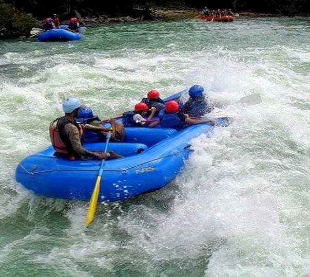 Rafting in Kundalika River at Kolad