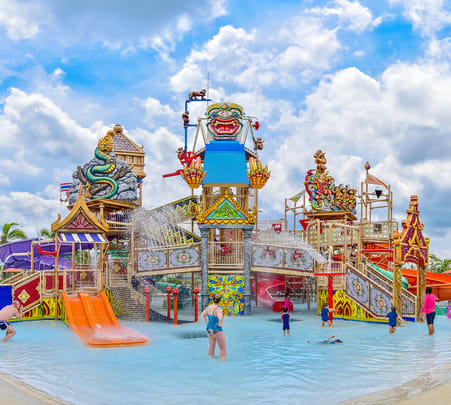 Ramayana Waterpark in Pattaya - Flat 17% off