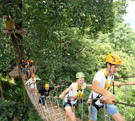 Flying Hanuman Zipline Adventure