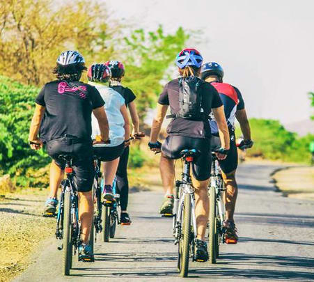 Adventure Cycling in Outback Naila, Jaipur